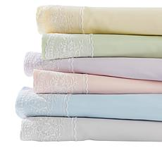 South Street Loft Paris Lace 4-piece Microfiber Sheet Set