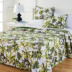 South Street Loft Safari Collection 3-piece Print Quilt Set