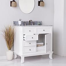 Southern Enterprises Almanza Vanity Sink - White