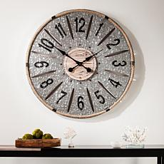 Southern Enterprises Dorine Decorative Oversized Wall Clock