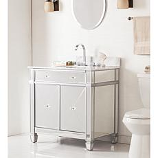 Southern Enterprises Double-Door Bath Vanity Sink