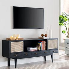 Southern Enterprises Holly & Martin Simms Media Console - Black