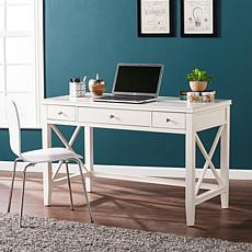 Southern Enterprises Kretzel Desk - White