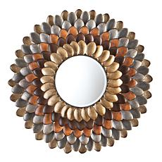 Southern Enterprises Millie Round Decorative Mirror