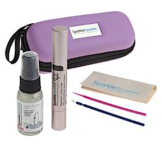 Sparkle Sparkle® Jewelry Cleaner Stylus Travel Set with Zippered Case