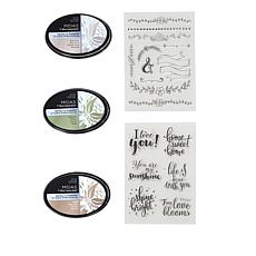 Spectrum Noir Metallic Everyday Ink Pads and Stamps Set