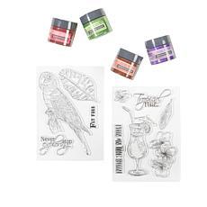 Spectrum Noir Shimmer Metallic Ink Bottles
