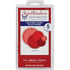 Spellbinders Nestabilities Dies - Lacey Circles