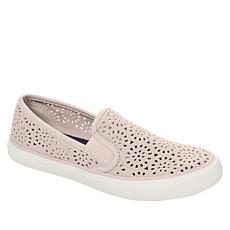 Sperry Seaside Perforated Leather Slip-On Sneaker