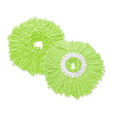 Spin Mop Deluxe Replacement Mop Head 2-pack