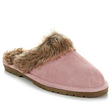 Sporto® Genuine Suede Luxe Slipper