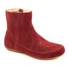 Sporto® Joy Water-Resistant Embroidered Suede Bootie