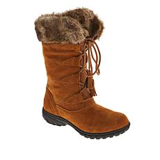 Sporto® Megan Waterproof Suede Tall Boot with Faux Fur
