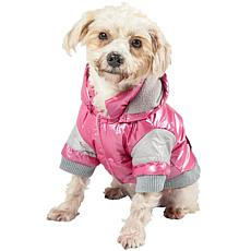 Sporty Vintage Aspen Pet Ski Jacket