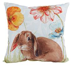 Spring Collection Decorative Pillow - Floppy Ear Bunny