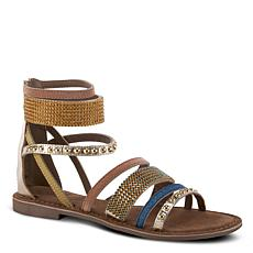 Spring Step Azura Belalia Embellished Leather Sandal