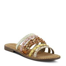 Spring Step Azura Minerals Embellished Leather Sandal