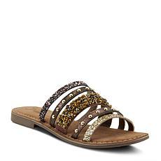 Spring Step Azura Minerals Embellished Leather Sandal