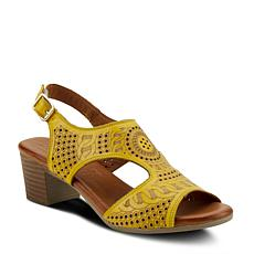 Spring Step Chains T-Strap Sandal