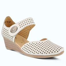 Spring Step Desiree Leather Mary-jane Shoes