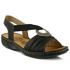 Spring Step Karmel Leather Sandal