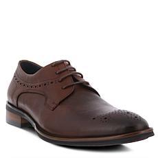 Spring Step Men's Charlie Leather Lace-Up Wingtip Shoe