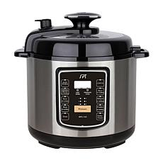 SPT 6.5-Qt Stainless Electric Pressure Cooker w/ Quick Release Button