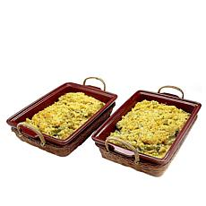 St. Clair 2-pack Broccoli Rice Tray