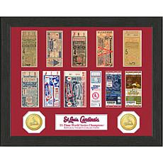 St. Louis Cardinals 11-Time World Series Ticket Collection