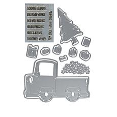 Stamps of Life Candy Truck Fold-It Stamp/Die Set by Stephanie Barnard