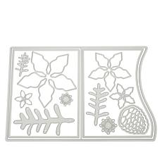 Stamps of Life Christmas Flower A2 Swish Card Die Set