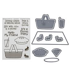 Stamps of Life Picnic Collection Stamp & Die Kit by Stephanie Barnard
