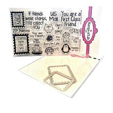 Stamps of Life Postage Stamp and Die Set