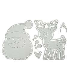 Stamps of Life Santa and Reindeer Fold-It Die Sets