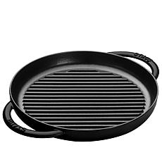"Staub 10"" Cast-Iron Pure Grill"