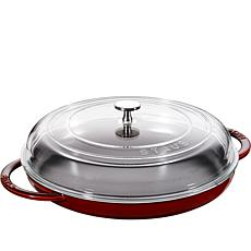 "Staub Cast Iron 12"" Round Steam Griddle"