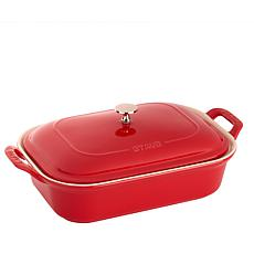 "Staub Ceramic 12"" x 8"" Covered Baking Dish"