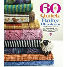 "Sterling Publishing ""60 Quick Baby Blankets"" Book"