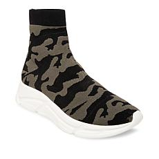 Steve Madden Bitten Stretch Knit High-Top Platform Sneaker