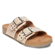 Steve Madden Bond Studded Buckle Comfort Slide
