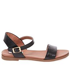 Steve Madden Dina Leather Flat Sandal