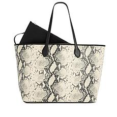 Steve Madden Lindy Embossed Tote