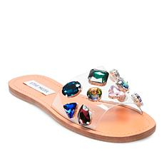 Steve Madden Rosalyn Bejeweled Slip-On Sandal