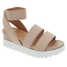 Steven Natural Comfort Kelly Fabric Platform Sandal