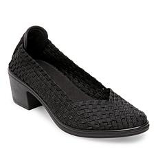 Steven Natural Comfort Pree Woven Elastic Slip-On Pump