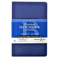 Stillman & Birn Beta Series Softcvr Sketchbook 5.5x8.5 Portrait 56pg