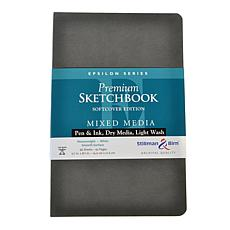Stillman & Birn Epsilon Softcvr Sketchbook 5.5x8.5 Portrait 96 Pages