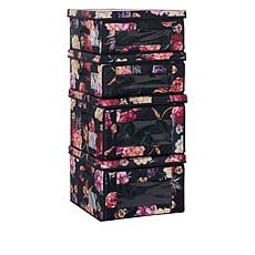 StoreSmith Collapsible Dual Access Fashion Storage Bins