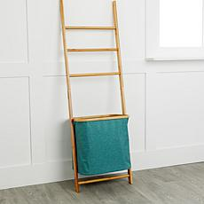 StoreSmith Ladder with Hamper