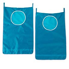 StoreSmith Over the Door Laundry Hamper 2-pack